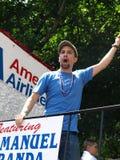 Rican de dagparade van Puerto Royalty-vrije Stock Foto