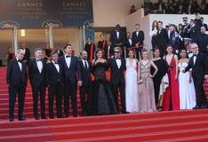Ricardo Darin, Asghar Farhadi, Javier Bardem, Penelope Cruz Royalty Free Stock Images