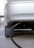 Ricarica del combustibile del gas GPL dell'automobile Fotografia Stock Libera da Diritti