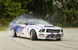 Riccardo Errani Ford Mustang Rally. The Ford Mustang driven by Riccardo Errani during the 9th edition of Rally del Rubicone, october 24, 2010 Stock Photo