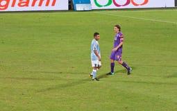 Riccardo Montolivo from Fiorentina AC Stock Photo