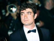 Riccardo Scamarcio attends the `It`s Only The End Of The World. Juste La Fin Du Monde` Premiere during the 69th annual Cannes Festival at the Palais on May 19 Stock Images