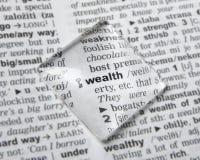ricchezza Immagine Stock Libera da Diritti