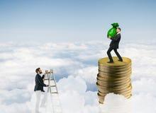Ricchezza e concetto di successo Fotografie Stock