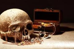 Ricchezza e morte Fotografie Stock Libere da Diritti
