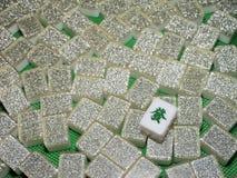 Ricchezza - Mahjong copre di tegoli la parte superiore giù Fotografie Stock Libere da Diritti