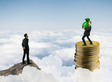 Ricchezza, soldi e finanza Fotografie Stock