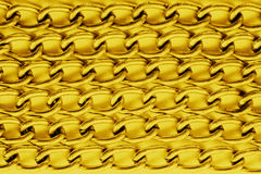 Ricchi di lusso della catena dorata Fotografia Stock