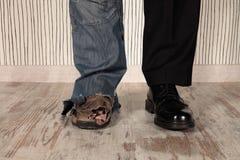 Ricchi e poveri Fotografia Stock Libera da Diritti