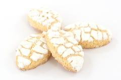 Ricciarelli biscuits Stock Images