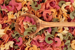 Riccioli Pasta Stock Photo