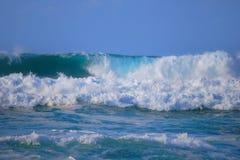 Ricciolo che si forma su Wave fotografie stock libere da diritti