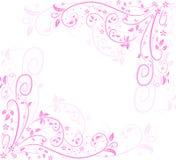Ricciolo del fiore Immagini Stock