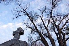 Ricciolo trasversale di pietra e cielo Immagini Stock