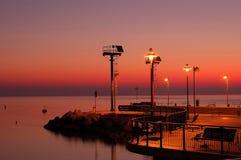 Riccione Kanal lizenzfreie stockfotos