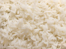 rice ångad white Arkivbilder