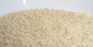 RICE. Macro background of white rice Royalty Free Stock Images