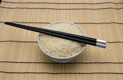 Rice. Bowl of rice Royalty Free Stock Photo