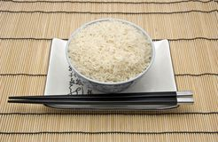 Rice. Bowl of rice Royalty Free Stock Image