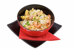 Rice And Seafood Stock Images