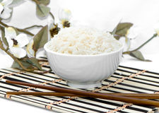 Rice as the Asiatic cuisine symbol Stock Photography