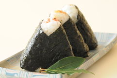 Rice ball Stock Photography