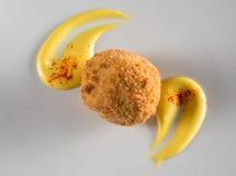 Rice ball - supplì Stock Photo