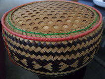 Rice basket in Thailand. Rice basket for use and gif Stock Photo