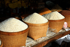 Rice Baskets Royalty Free Stock Photo