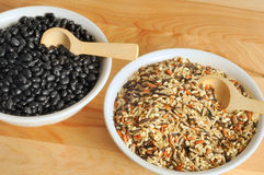 Rice and beans Royalty Free Stock Photography