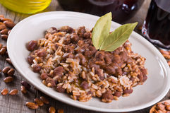 Rice and beans. Stock Photography