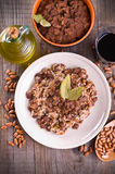 Rice and beans. Royalty Free Stock Image