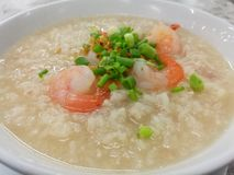 rice boil with shrimp Royalty Free Stock Images