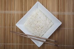 Rice in bowl Royalty Free Stock Photos