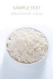 Rice in a bowl Royalty Free Stock Image