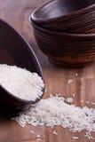 Rice in bowl Stock Photos