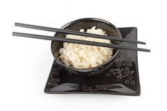 Rice in a bowl Stock Photography