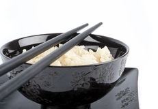 Rice in a bowl Stock Images