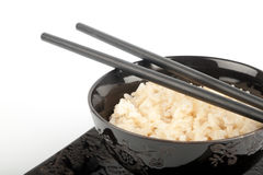 Rice in a bowl Royalty Free Stock Photography