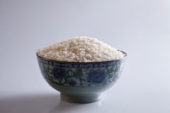 Rice in bowl Royalty Free Stock Photo