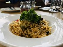 Rice bowl stock photography