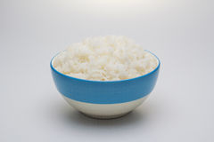 Rice in the bowl. Royalty Free Stock Photography
