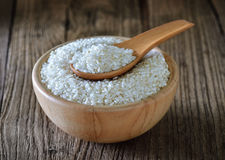 Rice in bowl Stock Photography