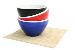 Rice Bowls Royalty Free Stock Images
