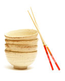 Rice Bowls Stock Photography