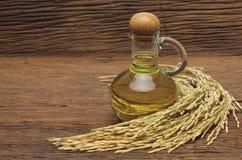 Rice bran oil Stock Image