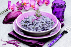 Rice with cabbage Royalty Free Stock Photos