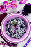 Rice with cabbage Royalty Free Stock Images