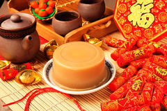 Rice cake for Chinese new year stock image