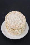 Rice cake in dish Stock Image